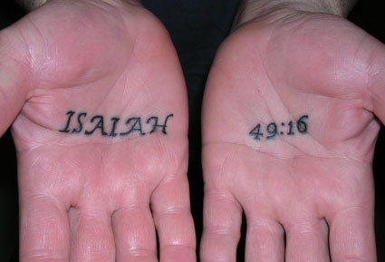 bible verses tattoos. with a Bible verse.